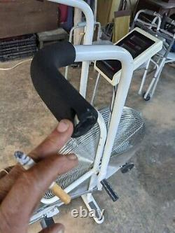 Vintage Schwinn Air-Dyne Dual Action Stationary Exercise Bike with Speedometer