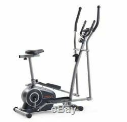 Weslo Momentum G 3.2 Bike/Elliptical 2-in-1 Hybrid Trainer + Digital Time Screen