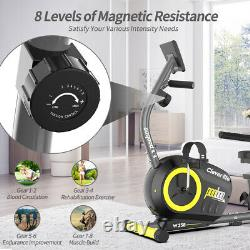 Workout Home Cycling Recumbent Exercise Bike Fitness Cardio Elliptical Exercise